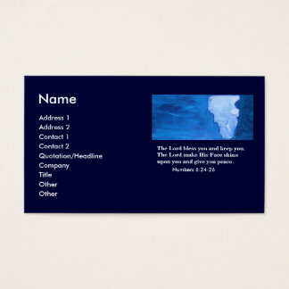 THE BLESSING BUSINESS CARD