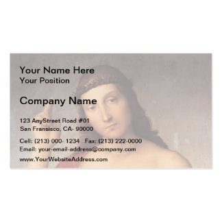 The Blessing Christ by Raphael Double-Sided Standard Business Cards (Pack Of 100)