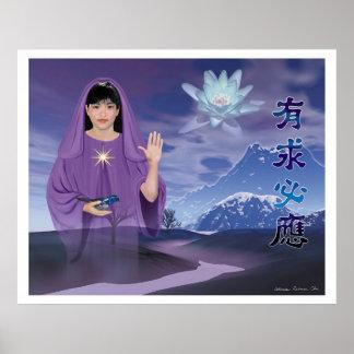 The Blessing of Quan Yin Print