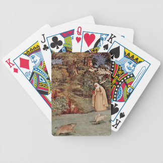 The Blessing of Saint Brigid of Kildare Bicycle Playing Cards