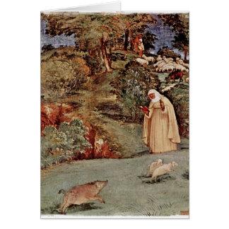The Blessing of Saint Brigid of Kildare Card