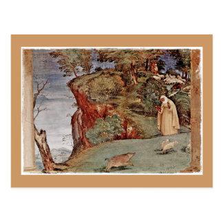 The Blessing of Saint Brigid of Kildare Postcard