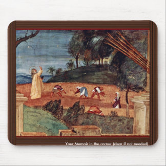 The Blessing Of St. Clare By Lotto Lorenzo (Best Q Mousepads