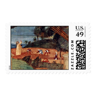 The Blessing Of St. Clare By Lotto Lorenzo (Best Q Postage