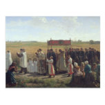 The Blessing of the Wheat in the Artois, 1857 Post Card