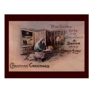 The Blessings of Christmas Postcard