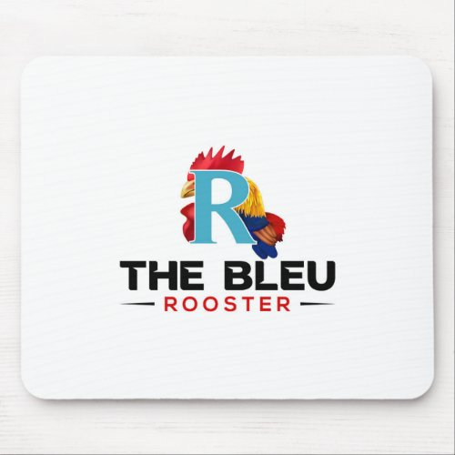 The Bleu Rooster_Logo-01 Mouse Pad
