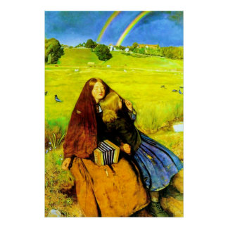 The Blind Girl John Everett Millais Print