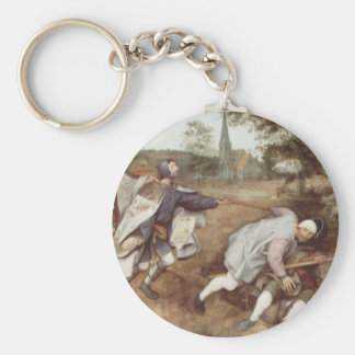 The Blind Leading the Blind - 1568 Basic Round Button Keychain