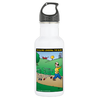 """""""The Blind Leading The Blind"""" Water Bottle"""