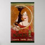 The Blind Pig Vintage Artwork Poster