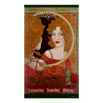 THE BLIND PIG™ Vintage Artwork Poster