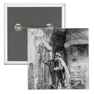 The blind Tobit, 1651 Button