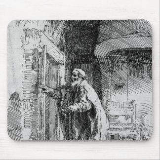 The blind Tobit, 1651 Mouse Pad