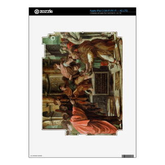 The Blinding of Elymas (cartoon for the Sistine Ch iPad 3 Decals