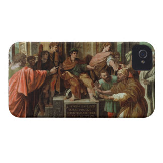 The Blinding of Elymas (cartoon for the Sistine Ch iPhone 4 Cover