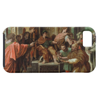 The Blinding of Elymas (cartoon for the Sistine Ch iPhone SE/5/5s Case