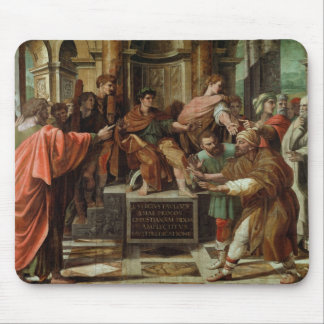 The Blinding of Elymas (cartoon for the Sistine Ch Mouse Pad