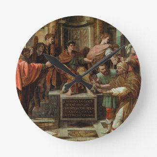 The Blinding of Elymas (cartoon for the Sistine Ch Round Clock