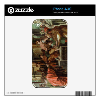 The Blinding of Elymas (cartoon for the Sistine Ch Skins For The iPhone 4