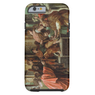 The Blinding of Elymas (cartoon for the Sistine Ch Tough iPhone 6 Case