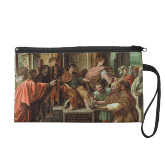 The Blinding of Elymas (cartoon for the Sistine Ch Wristlet