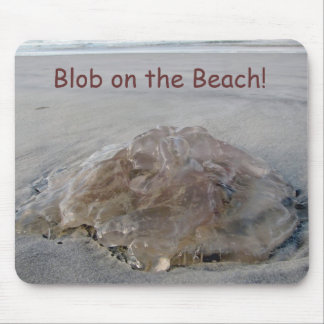 The BLOB on the Beach Mousepad