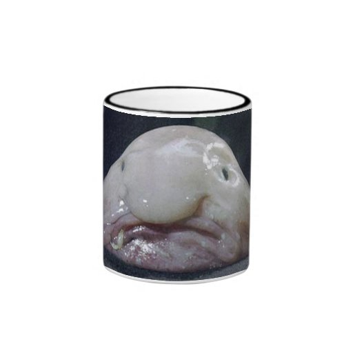 The Blobfish Ringer Coffee Mug
