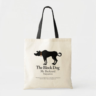 The Block Dog Tote Budget Tote Bag