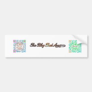 The Blog That Am! Bumper Sticker