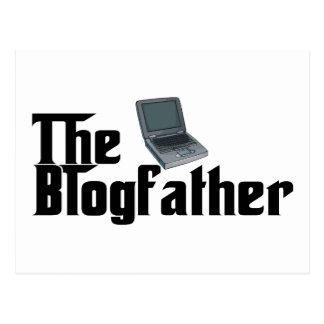 The Blogfather Postcard