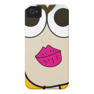 the blonde doll face iPhone 4 case