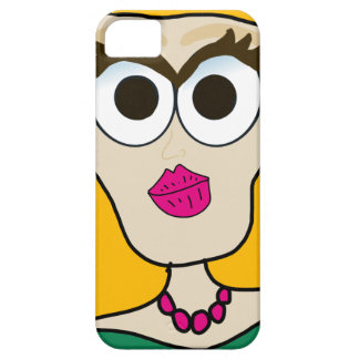 the blonde doll face iPhone SE/5/5s case