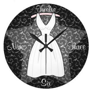 'The Blonde Starlet' Clock