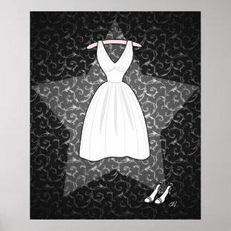 'The Blonde Starlet' Print