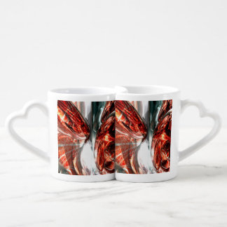 The Blood Divide Abstract Coffee Mug Set