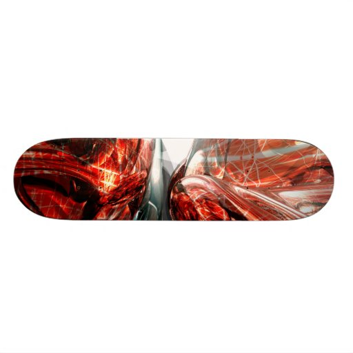 The Blood Divide Abstract Skateboards
