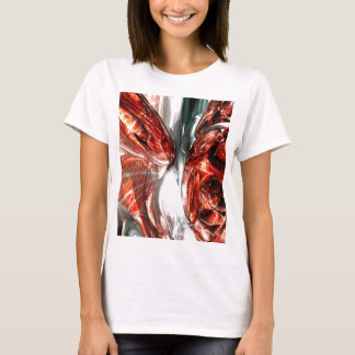 The Blood Divide Abstract T-Shirt