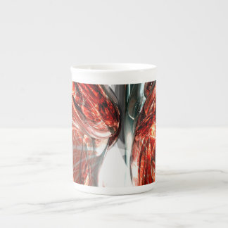 The Blood Divide Abstract Tea Cup