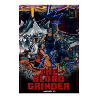 The Blood Grinder - Theatrical One-Sheet Poster