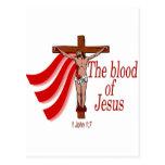 The blood of Jesus Postcard