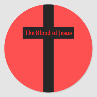 The Blood of Jesus Sticker
