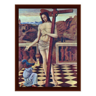 The Blood Of The Redeemer By Bellini Giovanni Postcard