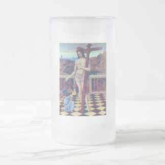 The blood of the Redeemer by Bellini 16 Oz Frosted Glass Beer Mug