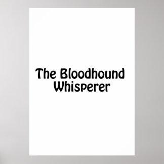the bloodhound whisperer poster