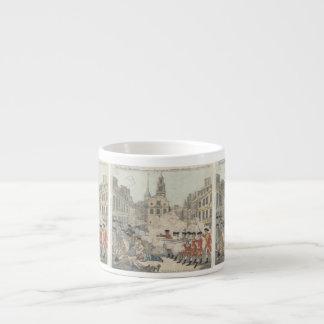 The Bloody Massacre - Paul Revere (1770) Espresso Cup