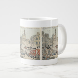 The Bloody Massacre - Paul Revere (1770) Giant Coffee Mug