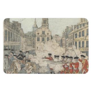 The Bloody Massacre - Paul Revere (1770) Rectangular Photo Magnet