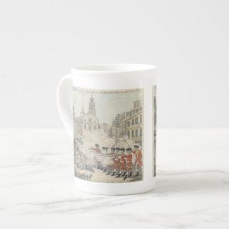 The Bloody Massacre - Paul Revere (1770) Tea Cup