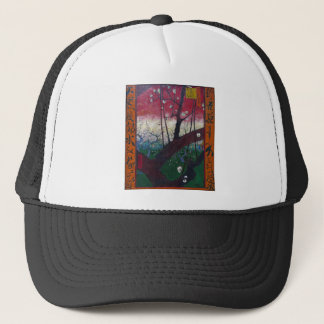 The Blooming plum tree By Vincent Van Gogh Trucker Hat